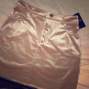 BNWT Velvet Skirt